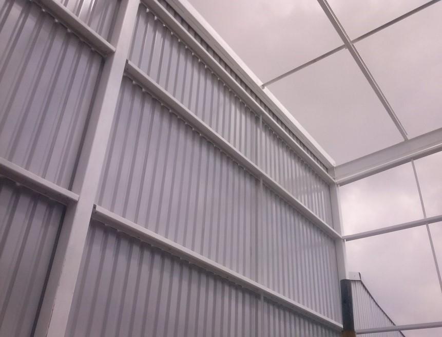 Fabricaci n e instalaci n de estructuras met licas para - Estructuras metalicas murcia ...